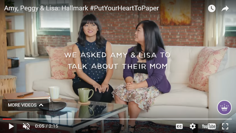 Amy, Peggy & Lisa: Hallmark #PutYoutHeartToPaper